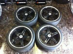 20 ASANTI AF144 BLACK CHROME WHEELS MASERATI