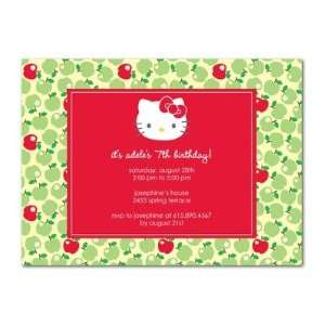 Party Invitations   Hello Kitty Apple Bobbing By Sanrio Toys & Games