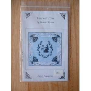 Leisure Time Applique Quilt Pattern by Bonnie Kaster