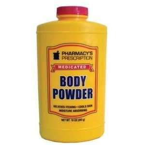 Pharmacys Prescription Medicated Body Powder 10 Oz