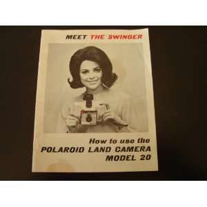 Polaroid Land Camera Owners Manual   model 20 Polaroid Corporation