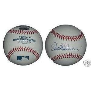 Orel Hershiser Signed MLB Baseball Los Angeles Dodgers