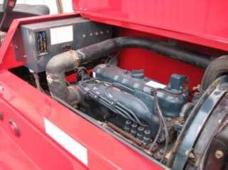 Moffett M5500 Piggyback Truck Mounted Forklift Diesel