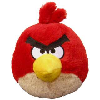 ANGRY CRAZY BIRDS ELECTRONIC PLUSH STUFFED TOY GAME RED