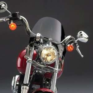 Deflector Windshield, Tinted For Various Harley Davidson Dyna