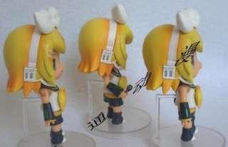 Vocaloid CV02 Rin Kagamine Anime Figures 11cm x 3PCs