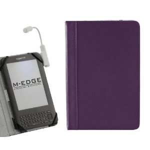 M Edge GO Purple  Kindle 3 Jacket Case & M Edge e