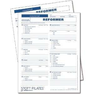 Stott Pilates Essential Reformer Client Workout Sheets