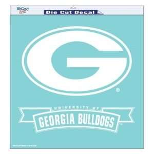 Georgia Bulldogs UGA NCAA Die Cut Decal 18 X 18 Sports