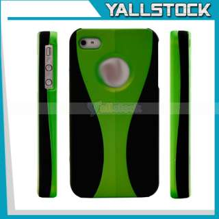 New Frame Hard Case cover for apple iPhone 4 4G Design Matte Green and