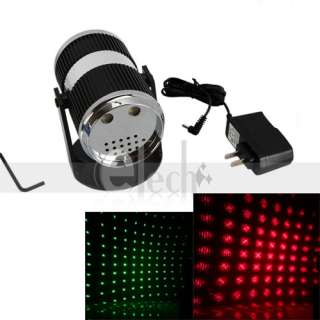 Mini Laser Stage light Red & Green Laser Power Saving Sound active