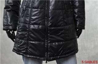 BNWT GUESS by Mariano Womens Coats NEW Long Black Puffer Coat sz M
