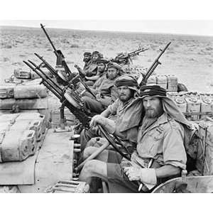 Special Air Service Patrol British Army Sas North Africa 1943 8 1/2 x