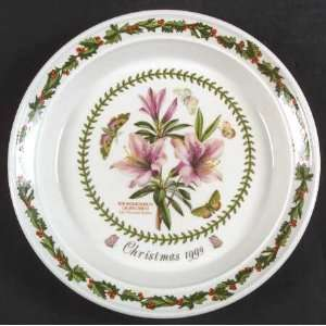 Portmeirion Botanic Garden 1999 Annual Christmas Plate