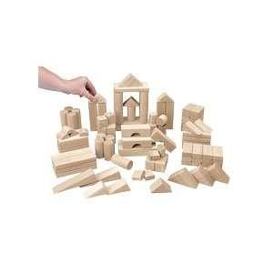 Best Value Unit Blocks   110 Piece Big Builder Set Toys & Games