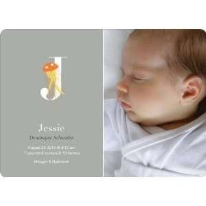 Animal Monogram Series Letter J: Jellyfish: Baby