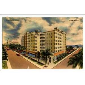 Reprint Vanderbilt Hotel, Miami Beach: Home & Kitchen