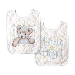 Tobin Baby 8 Inch x10 Inch Stamped Cross Stitch   Angel Baby