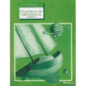Trofeos Cuaderno de Ortografia, Grado 5 (Spanish Edition) Hsp