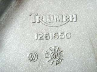 2002 Triumph Bonneville America 800/02 Engine Cover