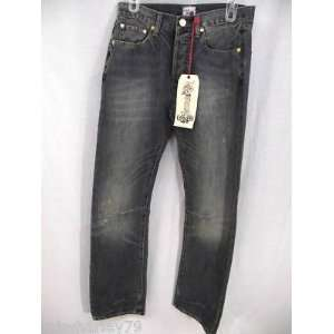 : ED HARDY MENS JERRY LOOSE FIT JEANS $189 SZ 30/34: Everything Else