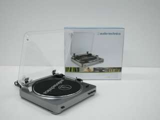 Audio Technica AT LP60 Fully Automatic Belt Driven Turntable