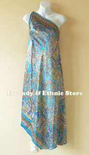 Versatile Silk Multi Wear Scarf Long Maxi Dress, Skirt, Maternity