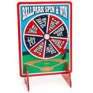 Lets Party By Fun Express Baseball Spinner Game