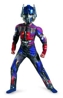 Transformer Optimus Prime Classic Muscle Costume Child 4 6 *New