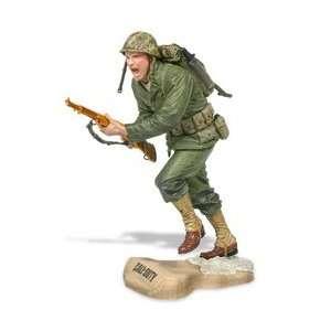 of Duty WWII Marine Infantry Battle of Peleliu Gold Gun Toys & Games