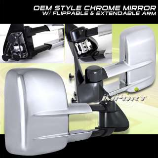 2000 2006 02 CHEVY SUBURBAN EXTENDABLE TOWING MIRRORS