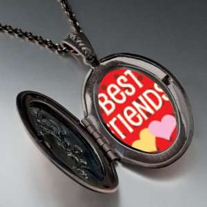 Best Friends Pendant Necklace Pugster Jewelry