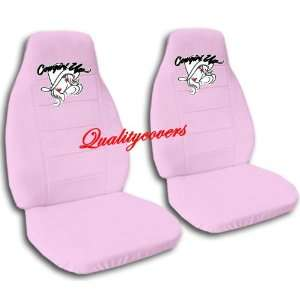 pink Cow Girl car seat covers for a 2002 Toyota Camry. Automotive