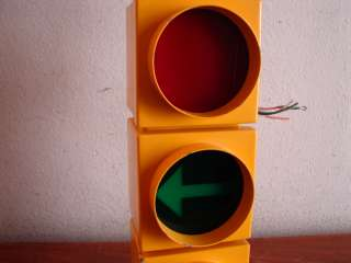 VINTAGE 50s 60s TRAFFIC SIGNAL STOP LIGHT NICE