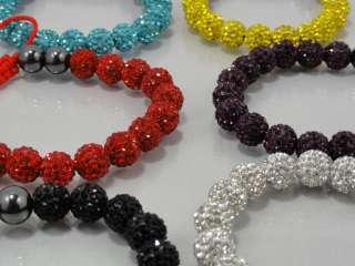 Swarovski Crystal Bracelet 6 Different Color Available+Free Ship