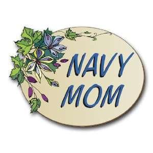 US Navy Mom Decal Sticker 3.8