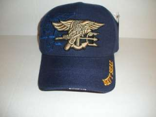 NAVY NAVY SEAL BLUE CAP/HAT NWT