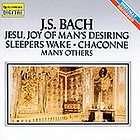 Bach Jesu, Joy Of Mans Desiring CD, Feb 1993, Quintes
