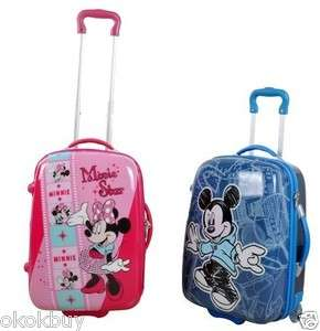 Mickey or Minnie Mouse Luggage Bag Baggage Trolley Roller 20 3choice