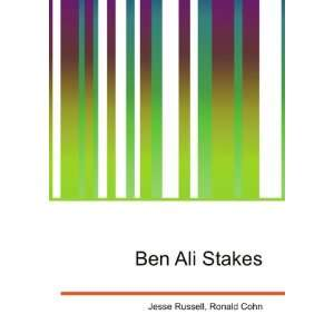 Ben Ali Stakes Ronald Cohn Jesse Russell  Books