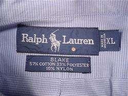 Lauren Blake Long Sleeve Dress Shirt (Mens XL) Fabric damage