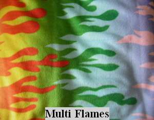 MULTI FLAMES SWEATER ITALIAN GREYHOUND CHINESE CRESTED