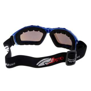 New Cool Basto Anti Fog Dual Lens Sport Ski Snowboard Goggles Blue