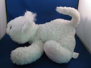 Koala Baby Plush White Cat Pink Nose Kitty Kitten Stuffed Animal Lovey
