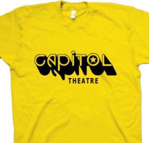 CAPITOL THEATRE Ramones Grateful Dead nj Shirt S,M,L,XL