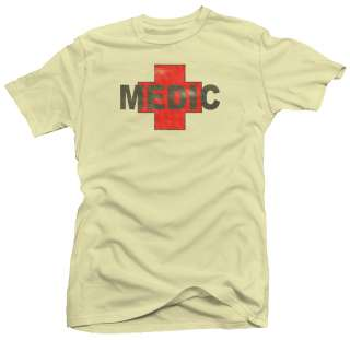 Medic Combat Paramedic Army Military New EMT T shirt