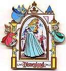 Disney HM DLR Pin Lunch Box Flora Fauna Merryweather