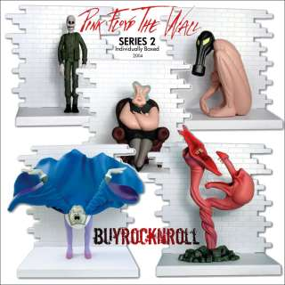 2004 Pink Floyd The Wall Series 2 Figure Gas Masked Mutant Human