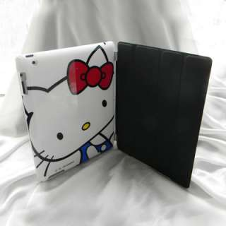 Hello Kitty Hard Case Cover + Stand Holder for iPad 2