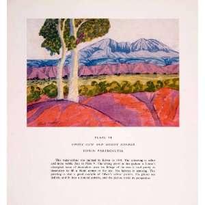 1952 Color Print Edwin Pareroultja Art Ghost Gum Tree